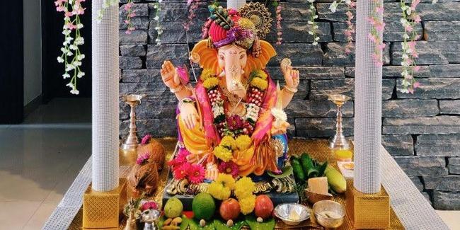 Ganesh Chaturthi at Home