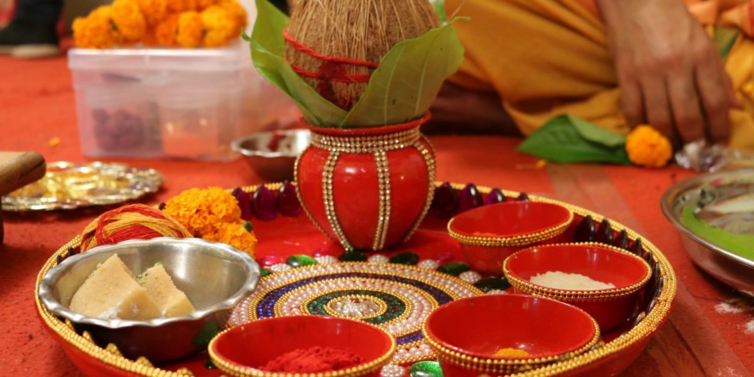 Pooja at Home